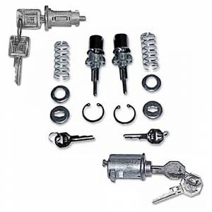 Classic Chevy & GMC Truck Restoration Parts - Locks & Lock Sets