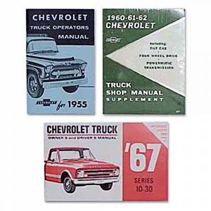 Classic Chevy & GMC Truck Restoration Parts - Books & Manuals