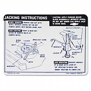 Chevelle - Decals - Jack Instructions