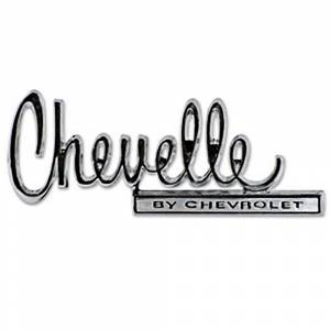 Chevelle - Emblems - Trunk Emblem