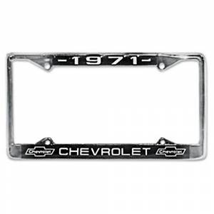 Chevelle - License Plate Parts - License Plate Frames