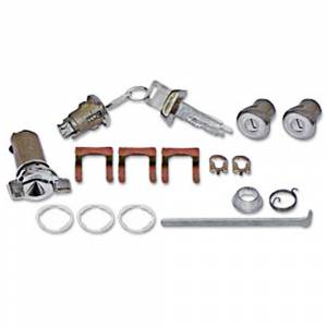 Classic Chevelle, Malibu, & El Camino Restoration Parts - Locks & Lock Sets - Complete Lock Sets