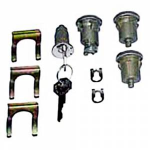 Classic Chevelle, Malibu, & El Camino Restoration Parts - Locks & Lock Sets - Ignition/Door/Trunk Lock Sets