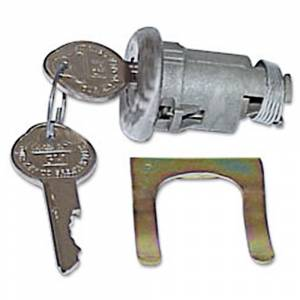 Classic Chevelle, Malibu, & El Camino Restoration Parts - Locks & Lock Sets - Trunk Locks