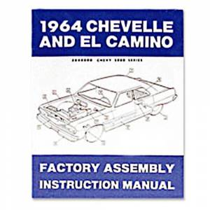 Chevelle - Books & Manuals - Assembly Manuals