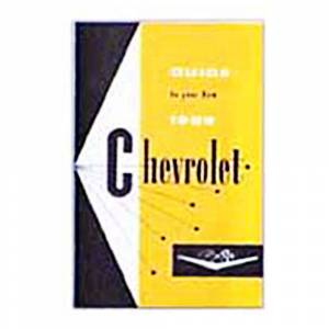 Chevelle - Books & Manuals - Shop Manuals