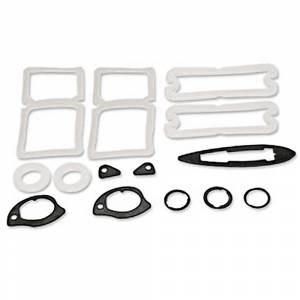Weatherstriping & Rubber Parts - Paint Gasket Kits - EL Camino Paint Gasket Kits
