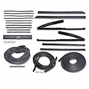 Chevelle - Weatherstrip Kits - Deluxe Weatherstrip Kits