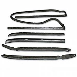 Chevelle - Window Parts - Roof Rail Seals
