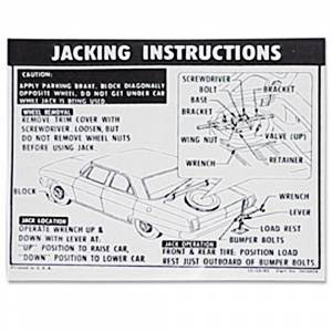 Nova - Decals - Jack Instruction Decals