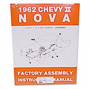 Nova - Books & Manuals - Assembly Manuals