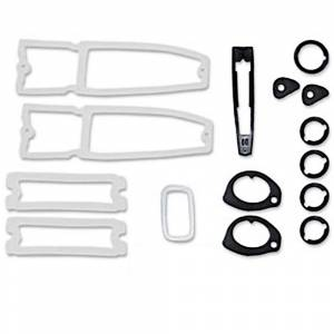 Classic Nova & Chevy II Restoration Parts - Weatherstripping & Rubber Restoration Parts - Paint Gasket Sets