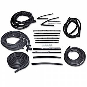 Weatherstriping & Rubber Parts - Weatherstrip Kits - Deluxe Weatherstrip Kits