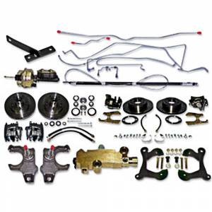 Classic Tri-Five Restoration Parts - Brake Restoration Parts - Disc Brake Conversion Kits