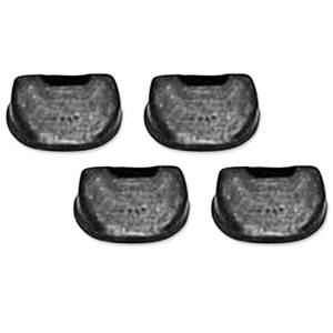Tri-Five - Bumpers (Rubber) - Seat Bumpers