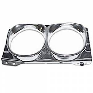Exterior Restoration Parts & Trim - Headlight Parts - Headlight Bezels