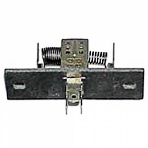 AC/Heater Restoration Parts - Factory AC/Heater Parts - Heater Resistors