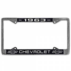 Exterior Parts & Trim - License Plate Parts - License Plate Frames