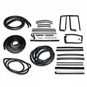 Weatherstripping & Rubber Restoration Parts - Weatherstrip Kits - Deluxe Weatherstrip Kits