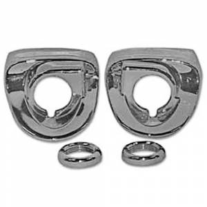 Tri-Five - Wiper Parts - Wiper Escutcheon Bezels