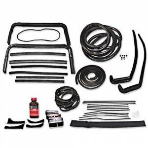 Tri-Five - Weatherstrip Kits - Deluxe Weatherstrip Kits