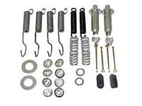 Classic Impala, Belair, & Biscayne Restoration Parts - Shafer's Classic Reproductions - Brake Hardware Kit (Front only)