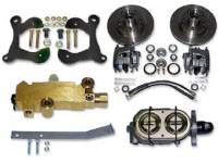 Brake Parts - Disc Brake Conversion Kits - H&H Classic Parts - Disc Brake Conversion Kit with Stock Height