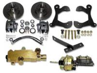 Brake Parts - Disc Brake Conversion Kits - H&H Classic Parts - Disc Brake Conversion Kit with Stock Height