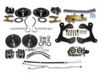 Brake Parts - Disc Brake Conversion Kits - H&H Classic Parts - Manual 4-Wheel Disc Brake Conversion Kit