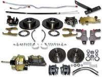 Brake Parts - Disc Brake Conversion Kits - H&H Classic Parts - Power 4-Wheel Disc Brake Conversion Kit