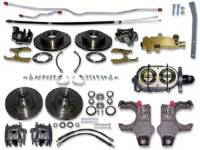 Brake Parts - Disc Brake Conversion Kits - H&H Classic Parts - Manual 4-Wheel Disc Brake Conversion Kit
