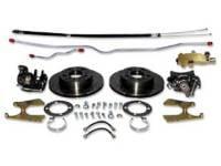 Brake Parts - Disc Brake Conversion Kits - H&H Classic Parts - 4-Wheel Disc Brake Upgrade Kit