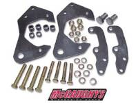 Brake Parts - Disc Brake Conversion Parts - McGaughy's Suspension - Disc Brake Adapter Brackets
