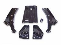 Chrome Bumpers - Bumper Brackets - Dynacorn International LLC - Front Bumper Braces