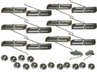 Clip Sets - Side Trim Clip Sets - H&H Classic Parts - Fender Molding Clip Set