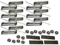 Clip Sets - Side Trim Clip Sets - H&H Classic Parts - Door Molding Clip Set