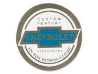 Decals - Interior Decals - Jim Osborn Reproductions - Seat Belt Decal