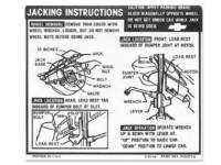 Decals & Stickers - Jack Instruction Decals - Jim Osborn Reproductions - Jack Instruction Decal