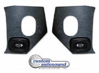 Radio Parts - Speakers - Custom Auto Sound - Kick Panel Speakers