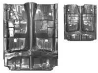 Sheet Metal Body Panels - Floor Pans - Dynacorn - Full Floor Pan Assembly