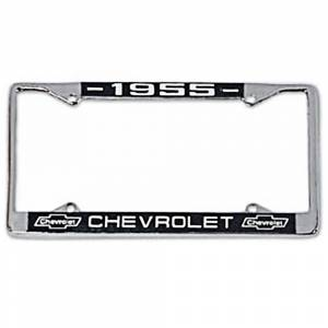 Tri-Five - License Plates & Light Parts - License Plate Frames