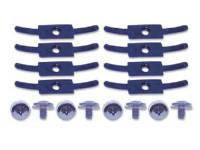 Classic Impala, Belair, & Biscayne Restoration Parts - Specialty Graphics - Trunk Lid Trim Panel Clip Set