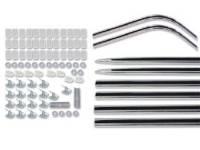 Side Moldings - 1966 Moldings - H&H Classic Parts - Complete Side Molding Set