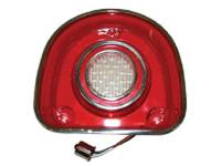 Backup Light Parts - Backup Light Lenses - United Pacific - LED Backup Light Lens