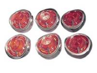 Taillight Parts - Taillight Assemblies - H&H Classic Parts - Taillight Assemblies (6 Piece)