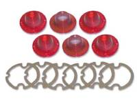 Taillight Parts - Taillight Lenses - H&H Classic Parts - Taillight Lens Kit