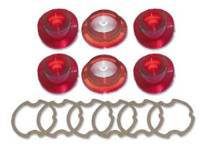 Taillight Parts - Taillight Lenses - H&H Classic Parts - Taillight Lens Kit without Trim