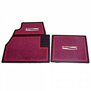 Tri-Five - Floor Mats - Carpet Floor mats