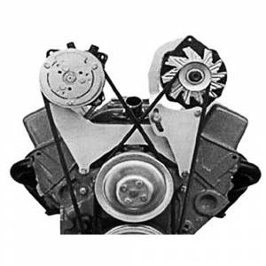 Engine & Transmission Restoration Parts - Engine Bracket Kits - Aftermarket Alternator Brackets
