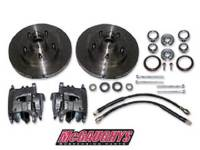 Brake Parts - Disc Brake Conversion Parts - McGaughy's Suspension - Rotor/Caliper Kit for Stock Height Spindles